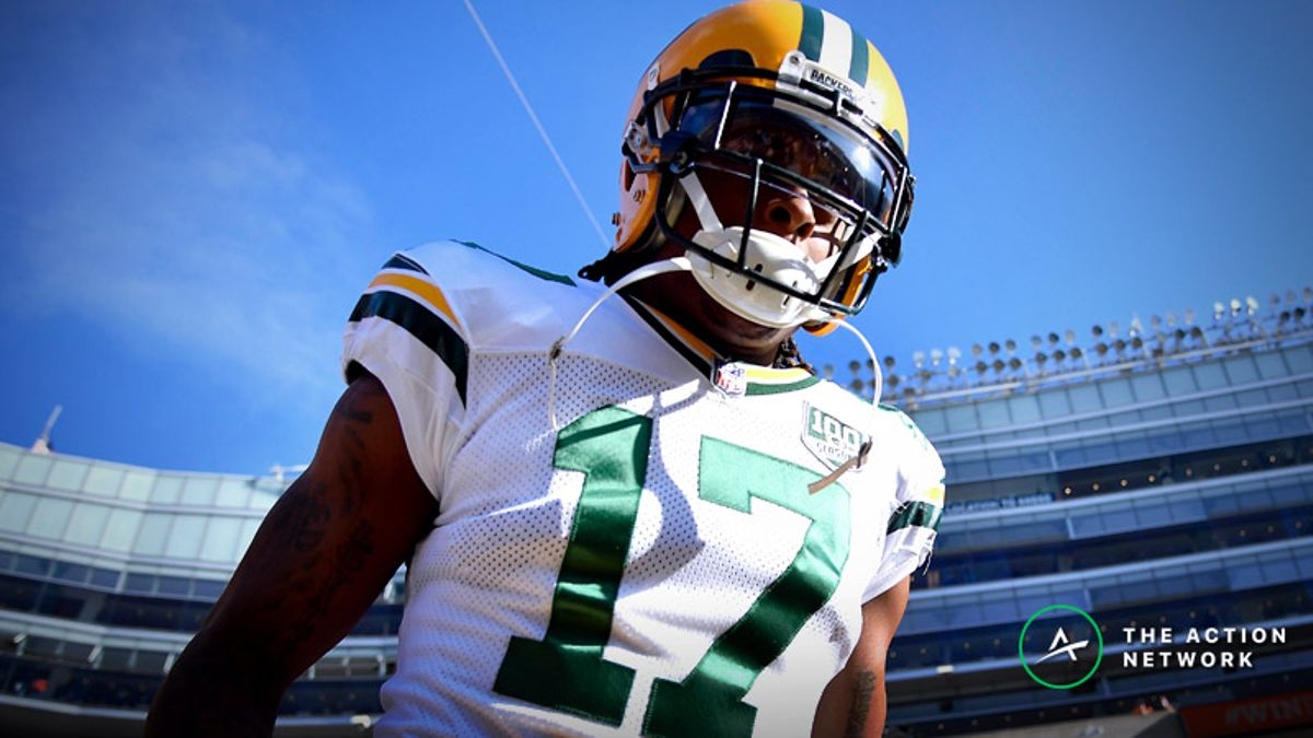 Is Davante Adams the Top WR in Fantasy Football? article feature image