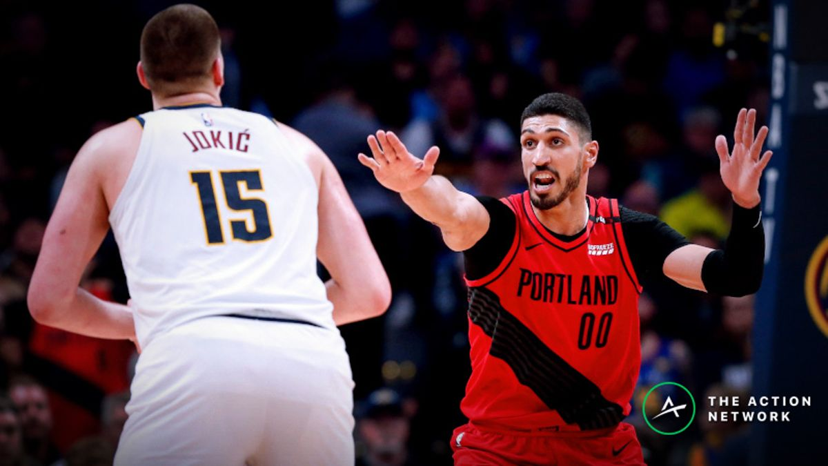 How Sharps are Betting Nuggets vs. Blazers Game 3 article feature image