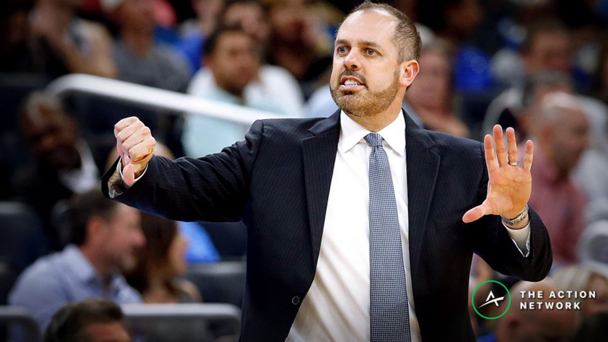 Moore: The Lakers and Frank Vogel Could Make for a Perfect Betting Combination to Fade article feature image