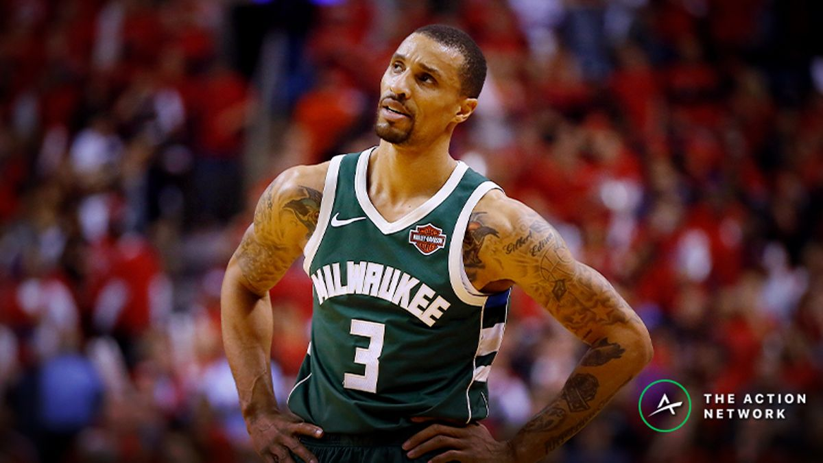 Raybon's Favorite NBA Prop for Thursday: Will George Hill Dish 3 Dimes? article feature image