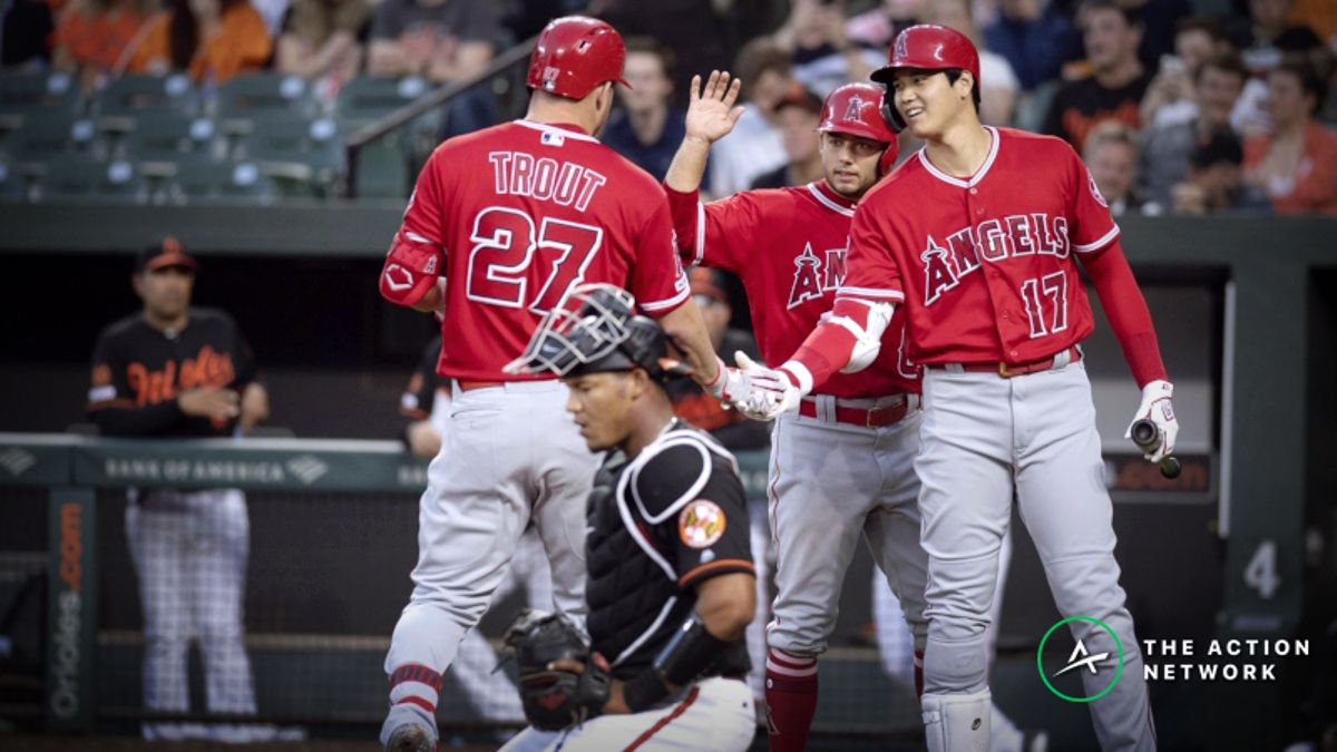 MLB Sharp Report: Pros Betting Angels-Twins, 2 Other Monday Games article feature image