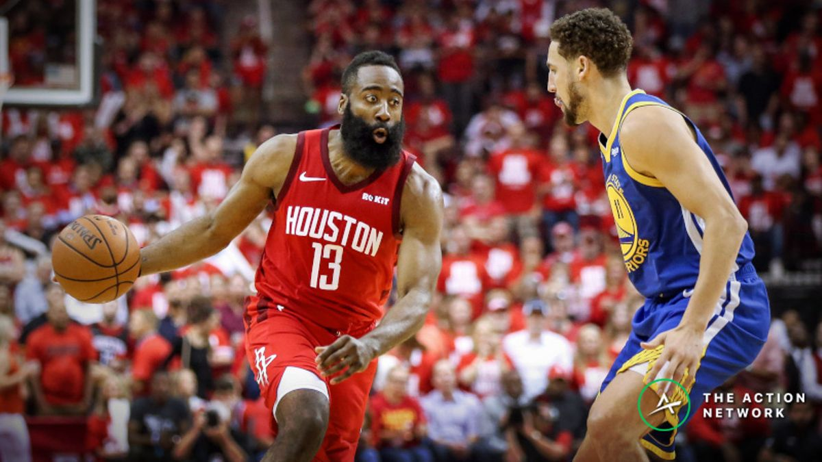 Sharp, Public Bettors on Same Side of Warriors vs. Rockets Game 6 Over/Under article feature image