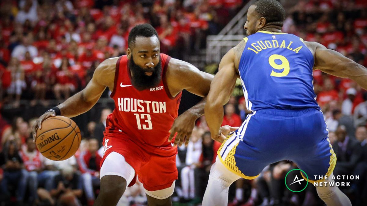 Warriors vs. Rockets Sharp Report: Both Sides Drawing Smart Money at Different Prices article feature image