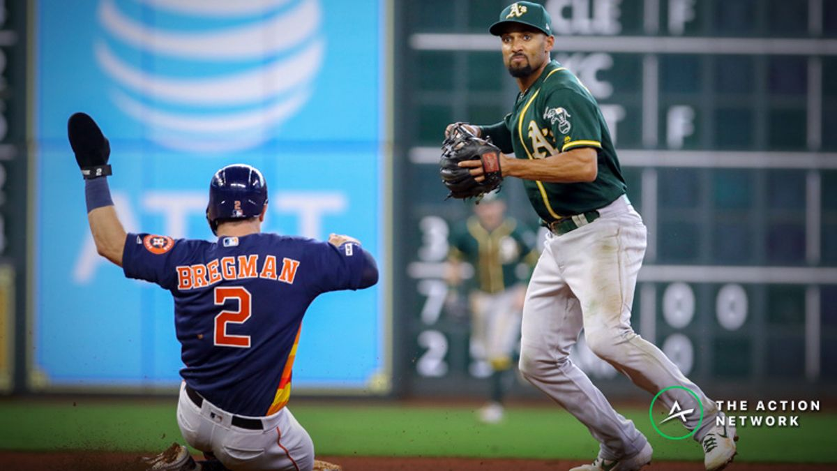 MLB Sharp Report: Pros Betting Astros-Athletics, 2 Other Friday Games article feature image