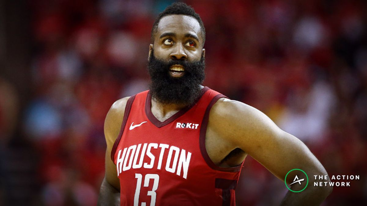Raybon's Favorite NBA Prop for Friday: Will James Harden Grab 7 Rebounds? article feature image