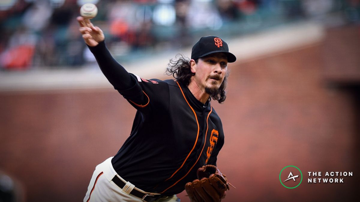MLB Daily Betting Model, 5/17: Should the Giants Be Favored on the Road? article feature image