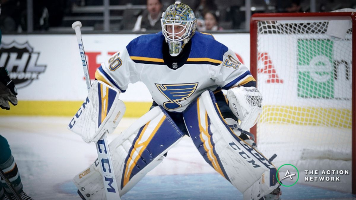 How Pros Are Betting Blues vs. Bruins Game 1 article feature image
