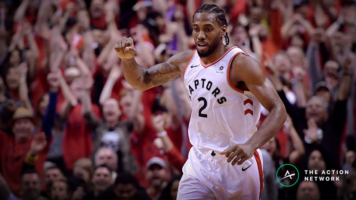 Warriors vs. Raptors Odds: Sharp Money Moving NBA Finals Game 1 Betting Line article feature image