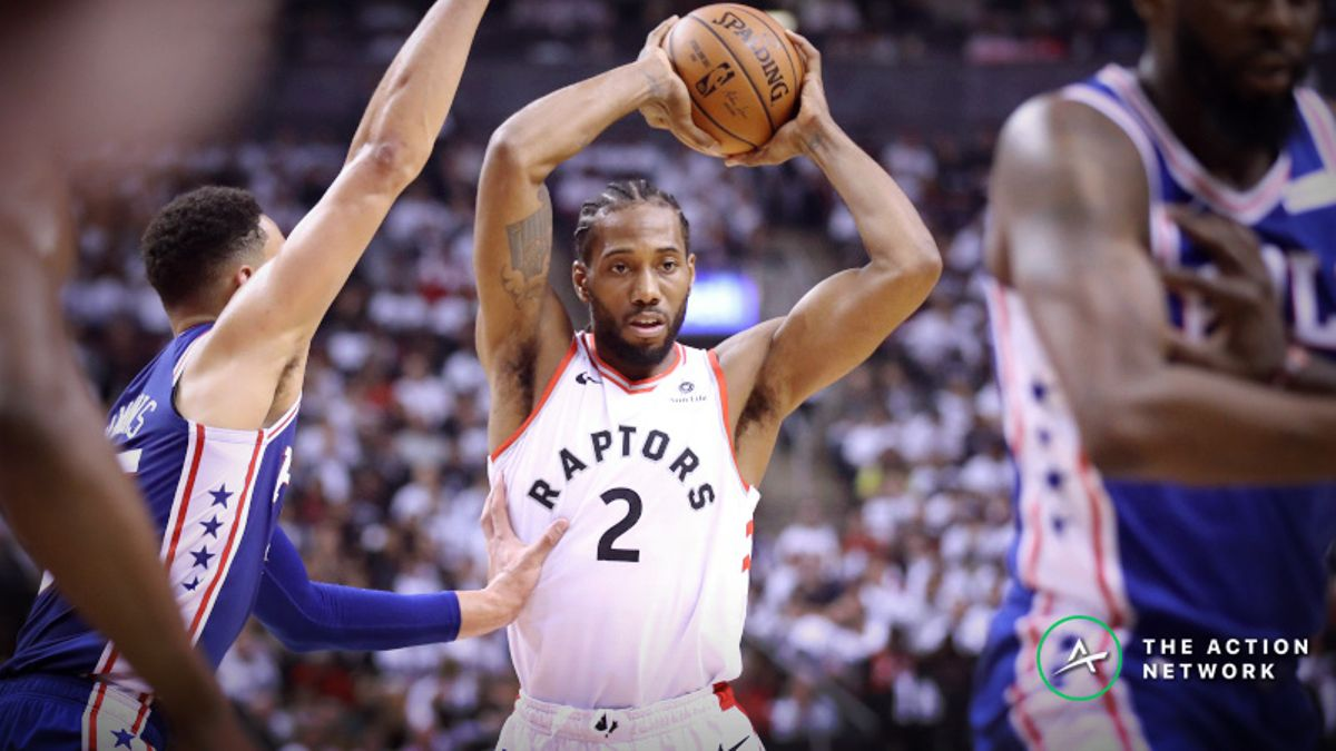 Raptors vs. 76ers Odds: How Sharps Are Moving Game 3 Betting Line article feature image