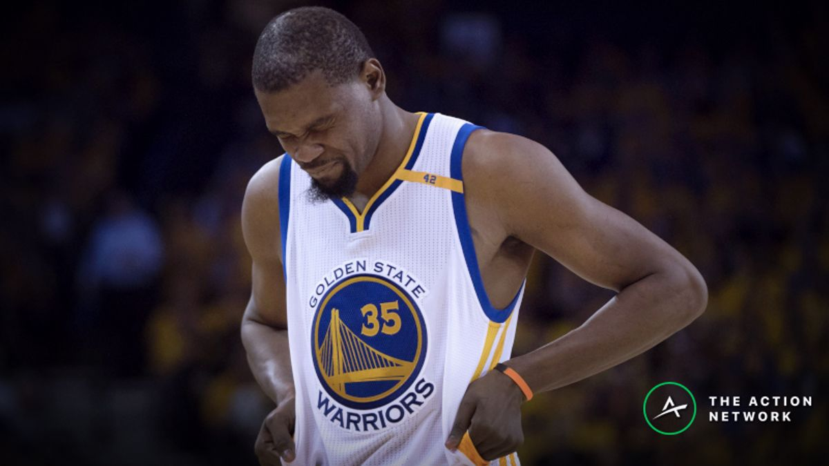 Kevin Durant Ruled Out for Game 4: Live Reaction, Betting Fallout, More article feature image