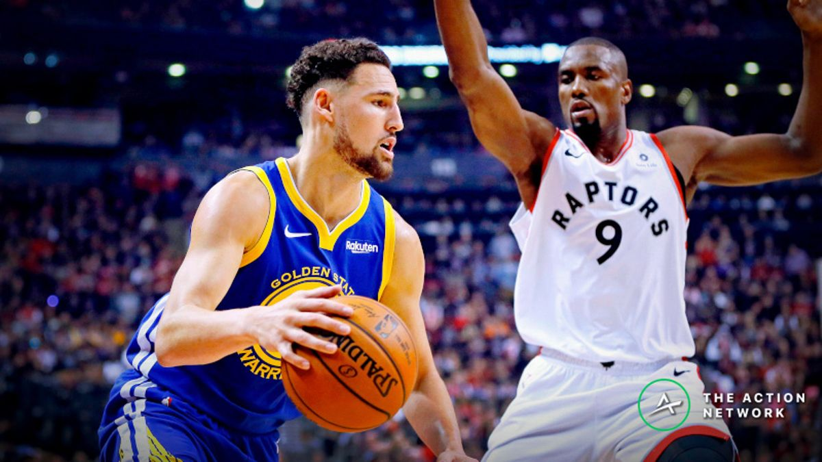 Warriors vs. Raptors Game 2 Line on the Move in Early Betting article feature image