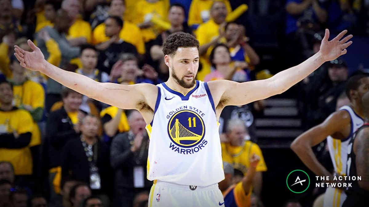How Many Points Per Game Will Klay Thompson Score in NBA Finals? article feature image