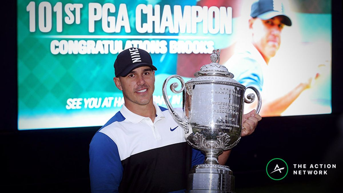 2019 U.S. Open Betting Odds: Brooks Koepka Favored to Win at Pebble Beach article feature image