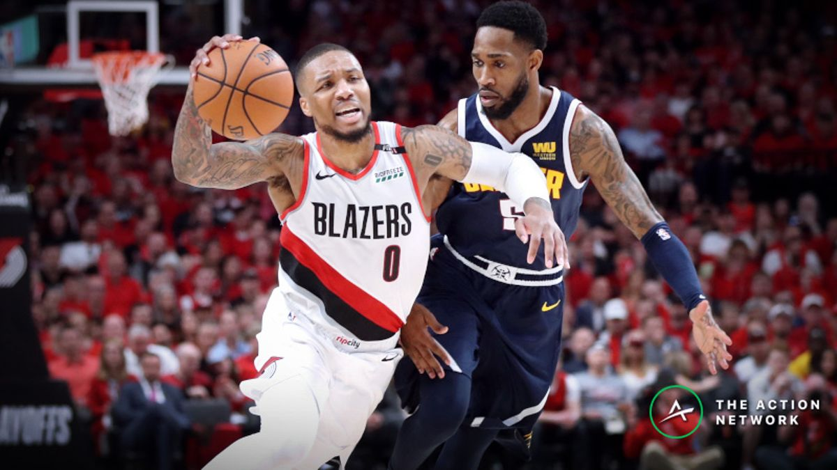 Sharp Action Shaping Nuggets vs. Blazers Game 6 Point Spread article feature image