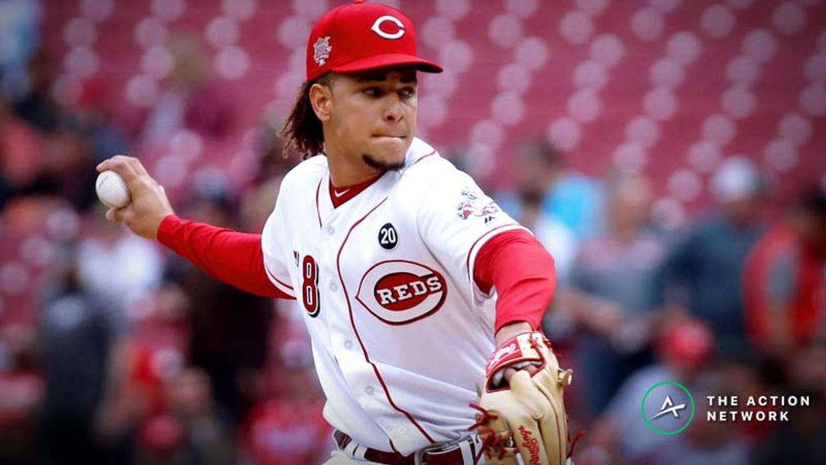 MLB Daily Betting Model, 5/10: Trust Luis Castillo in San Fransisco? article feature image
