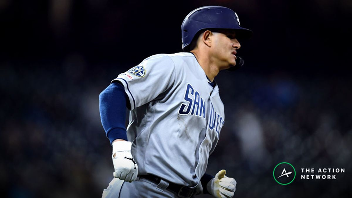 MLB Sharp Report: Pros Betting Padres-Rockies, 2 Others article feature image