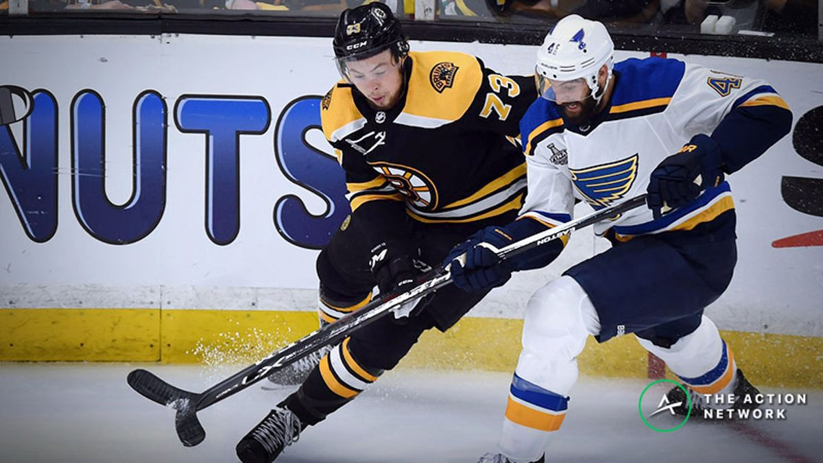 Stanley Cup Game 1 Betting Notes: The Bruins Deserved Series-Opening Win article feature image