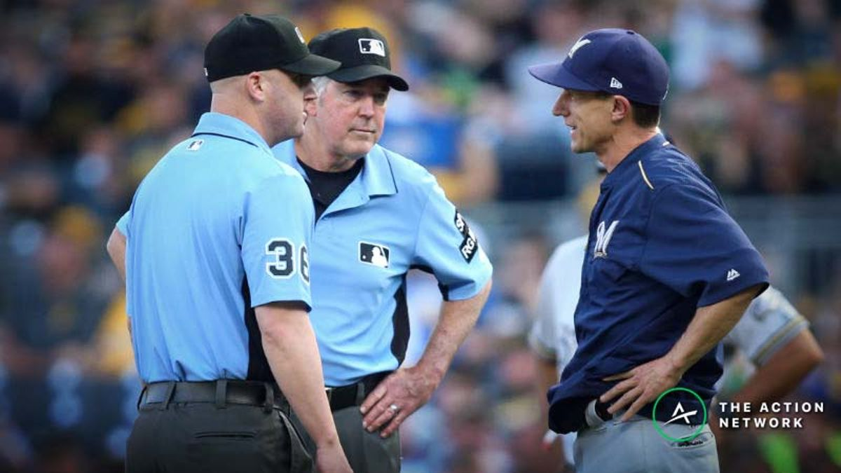 Wilson's MLB Umpire Betting Guide (5/8): When To Trust a Getaway Game Under article feature image