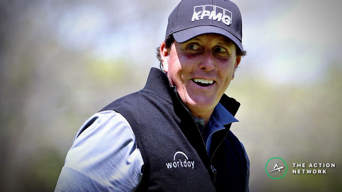 Sobel's Thursday PGA Championship Matchup Bets: Follow Phil's Trends in Round 1 article feature image