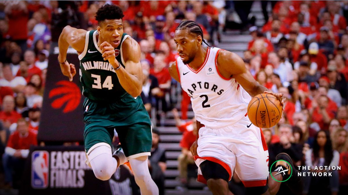 How Sharps Are Betting Raptors vs. Bucks Game 5 article feature image