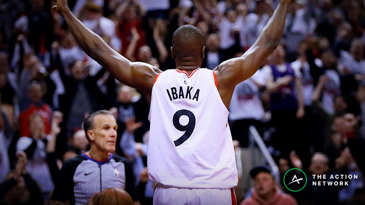 Raybon's Favorite NBA Prop for Thursday: Will Serge Ibaka Drop 9 Points? article feature image