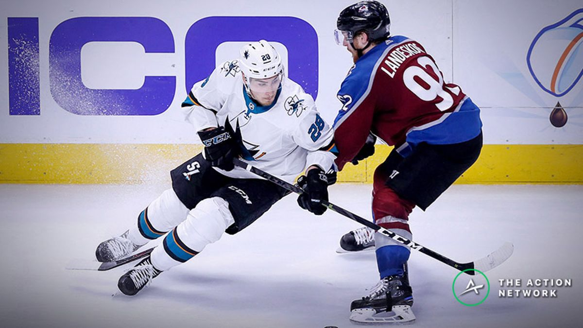 Avalanche vs. Sharks Game 7 Betting Odds, Preview: Do You Dare Trust Martin Jones? article feature image