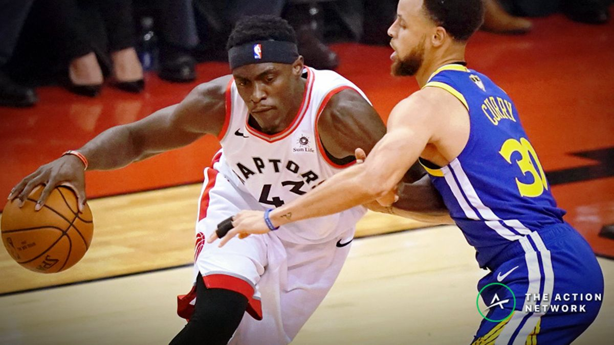 Warriors vs. Raptors NBA Finals Game 2 Betting Odds: Will Steph & Co. Rebound? article feature image