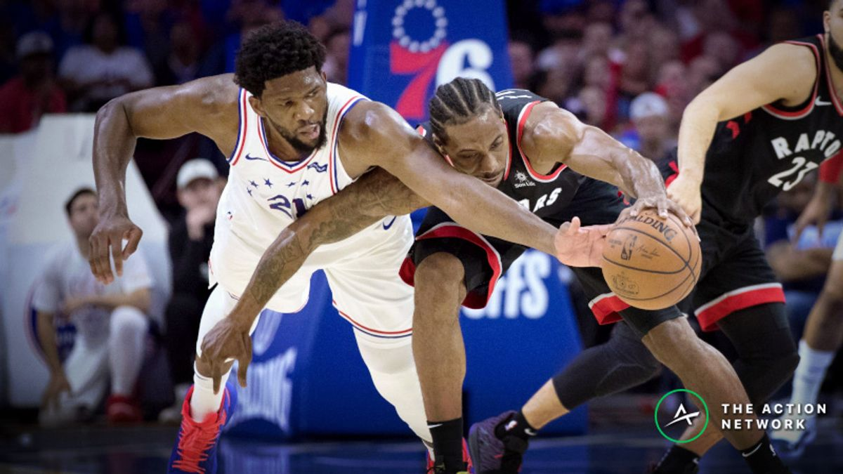 What's Driving Raptors vs. 76ers Game 4 Line Movement? article feature image