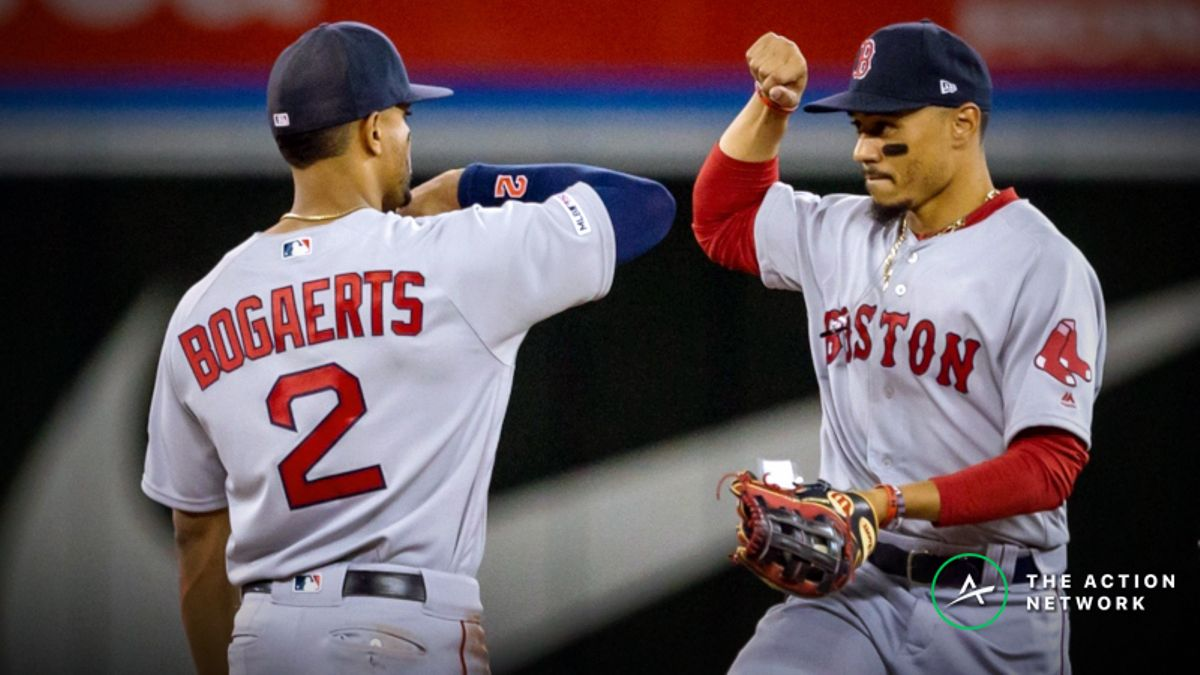 MLB Sharp Report: Pros Betting Red Sox-Astros, 2 Other Friday Games article feature image
