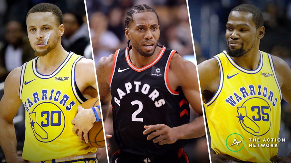 Moore: 15 Initial Thoughts On the Warriors-Raptors NBA Finals article feature image
