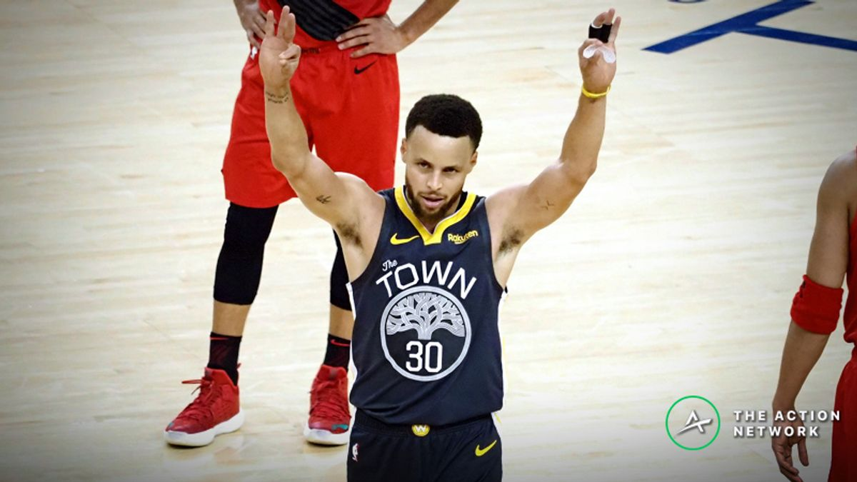 Moore: The 3 Totals Bets I'm Making for Warriors-Trail Blazers Game 3 article feature image