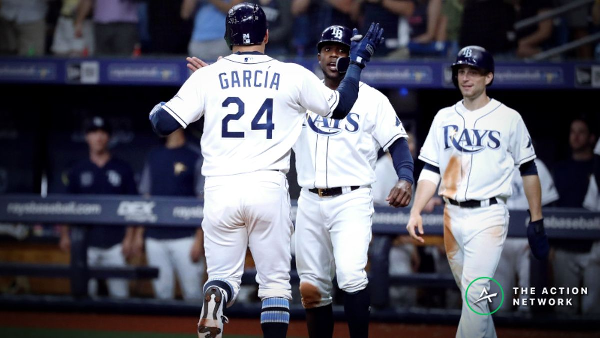 MLB Sharp Report: Pros Moving Rays-Indians Line Thursday Night article feature image