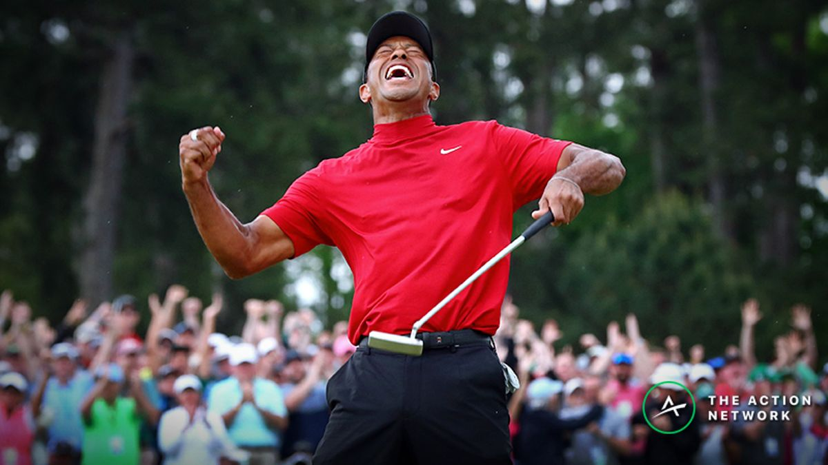 Tiger Woods Now Sole PGA Championship Favorite After Big Bet in Las Vegas article feature image