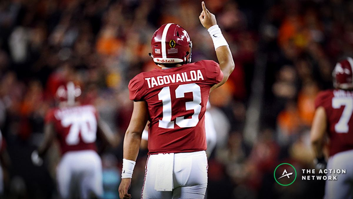 2020 NFL Draft Odds: Tua an Overwhelming Favorite for First Overall Pick article feature image