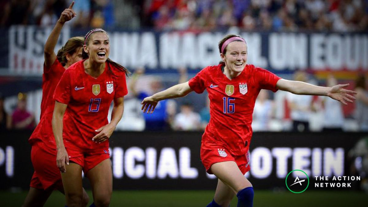2019 Women's World Cup Group Odds: USA, France, Germany Are Biggest Favorites article feature image