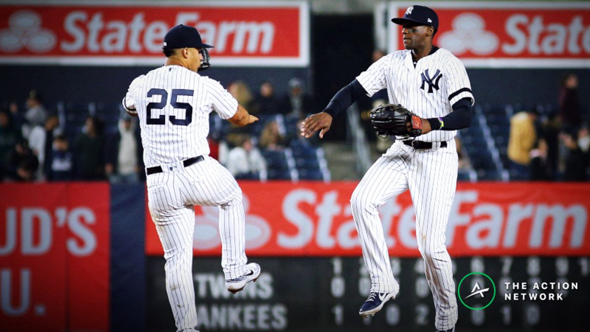 MLB Sharp Report: Pros Betting Twins-Yankees, 2 Other Sunday Games article feature image