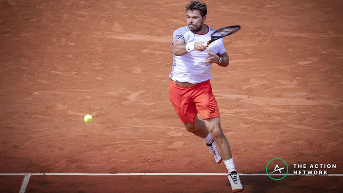 Our Favorite French Open Bets for Tuesday's Quarterfinals: Can Stan Wawrinka Beat Roger Federer? article feature image