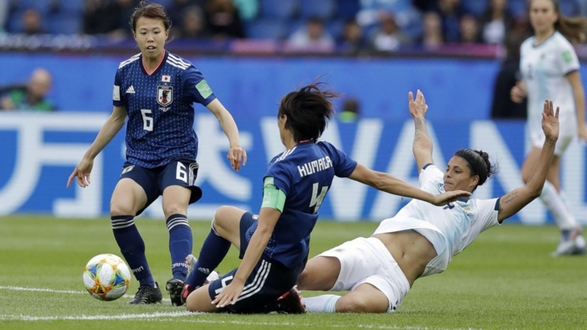 2019 Women's World Cup: Argentina Stuns Japan for First-Ever Point article feature image