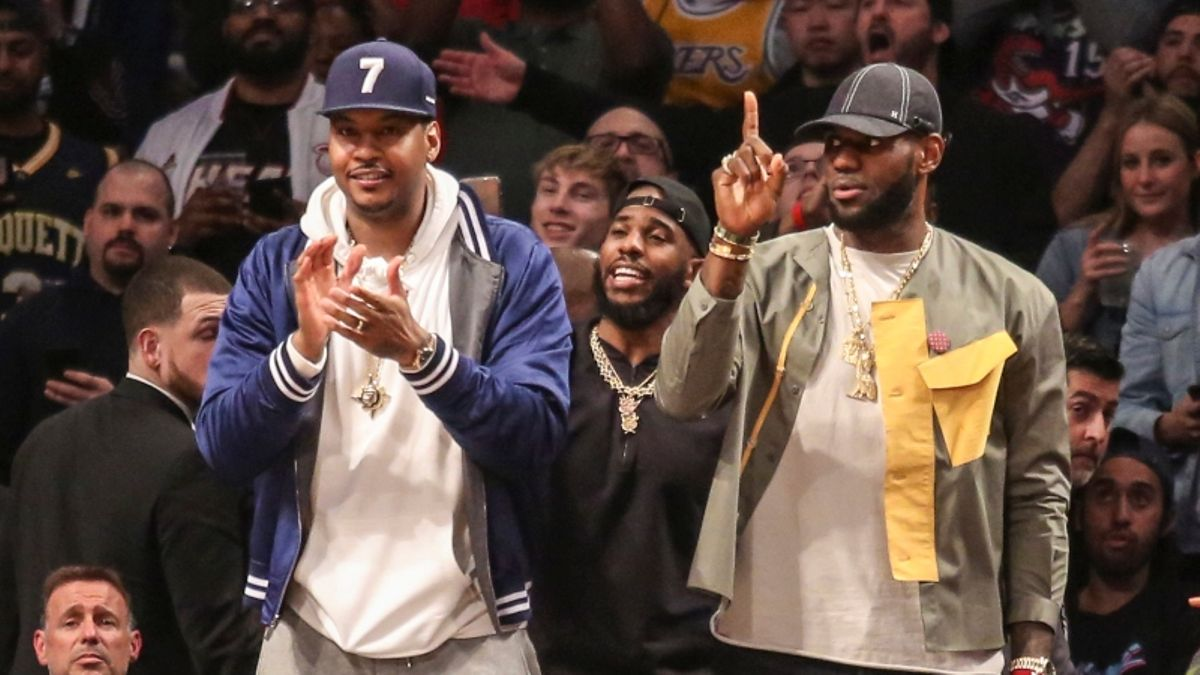 How Carmelo Anthony Potentially Joining Lakers Would Impact Betting Market (It Wouldn't) article feature image