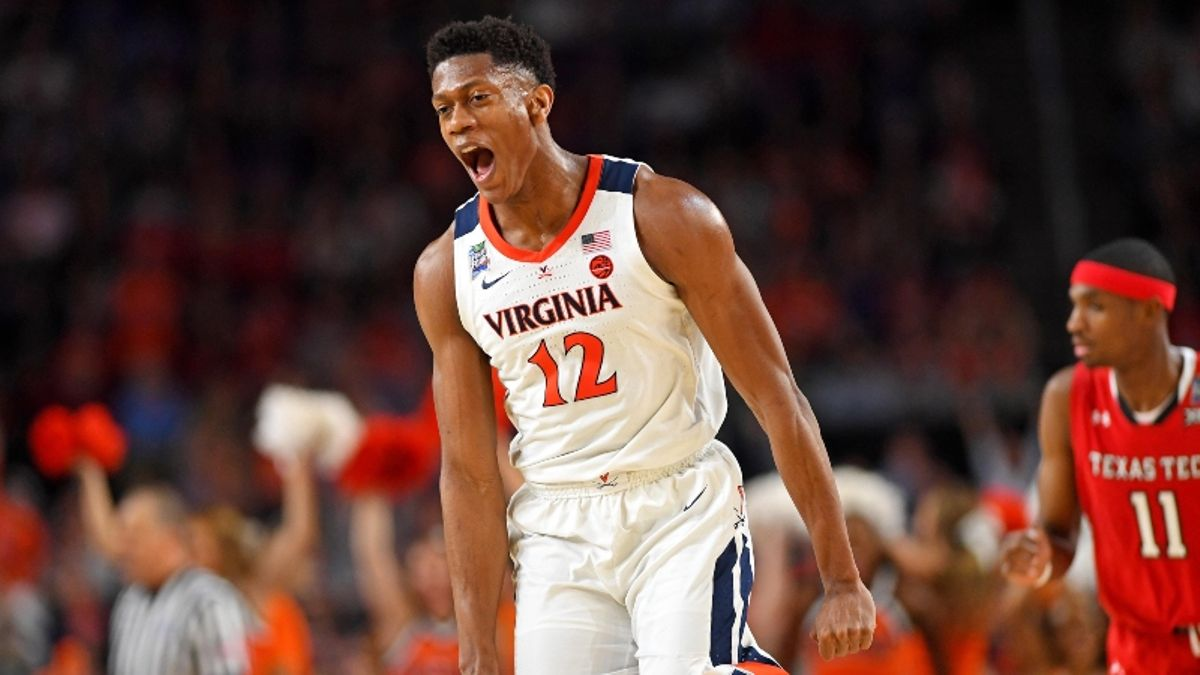2019 NBA Draft Prop: Will De'Andre Hunter Go in the Top 5? article feature image