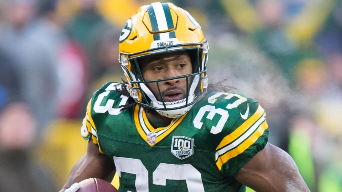 Aaron Jones Fantasy Football Rankings, 2019 Projections, Analysis, More article feature image