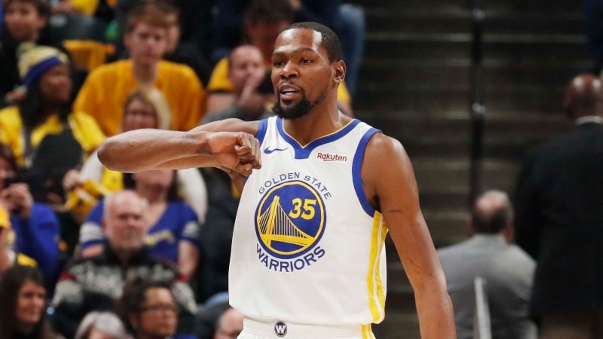 Rovell: One Sportsbook Has $500K in Liability on Kevin Durant NBA Finals MVP Bets article feature image