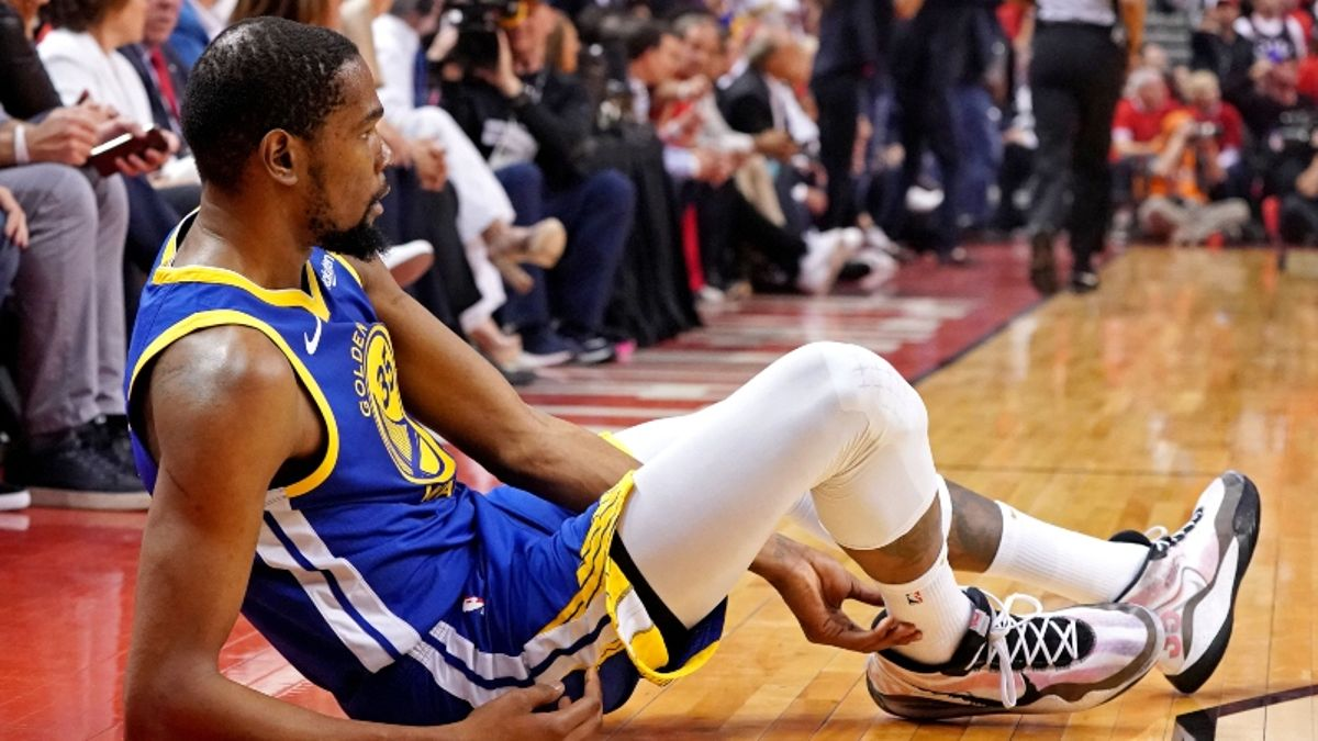 Moore: The Brutal Truth of What Kevin Durant's Injury Likely Means for the NBA Finals article feature image