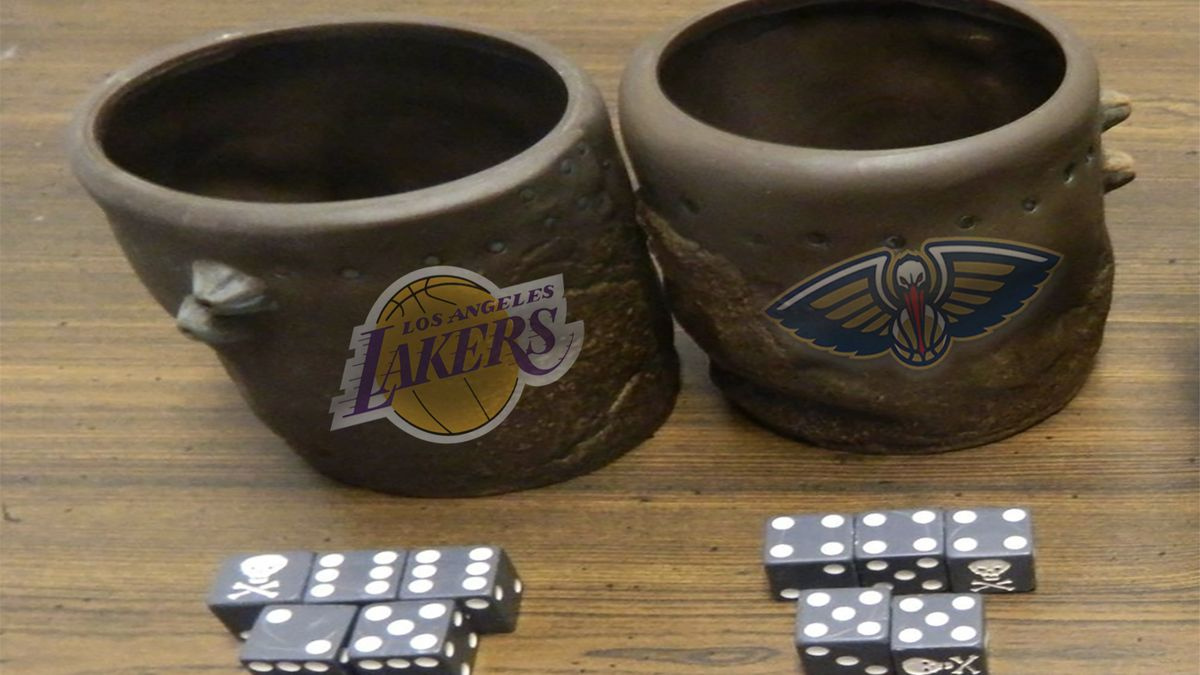 Wob: The Pelicans and Lakers Are Headed Towards a Game of Liar's Dice article feature image