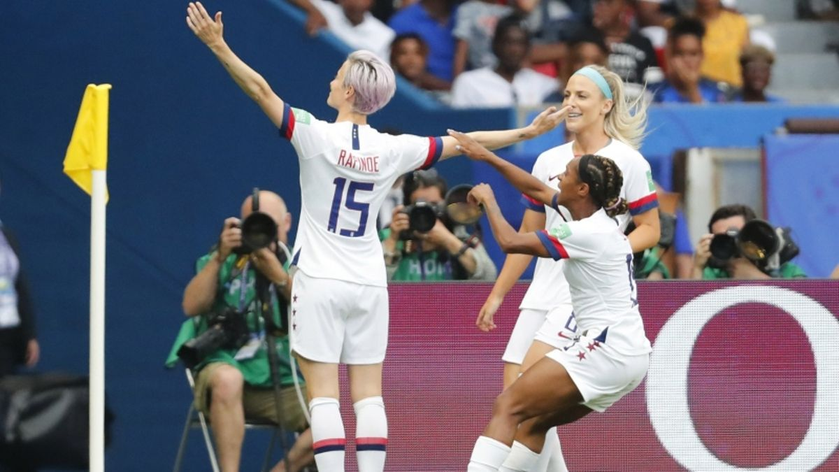 Women's World Cup Semifinal: USA Opens as Odds-On Favorites Against England article feature image