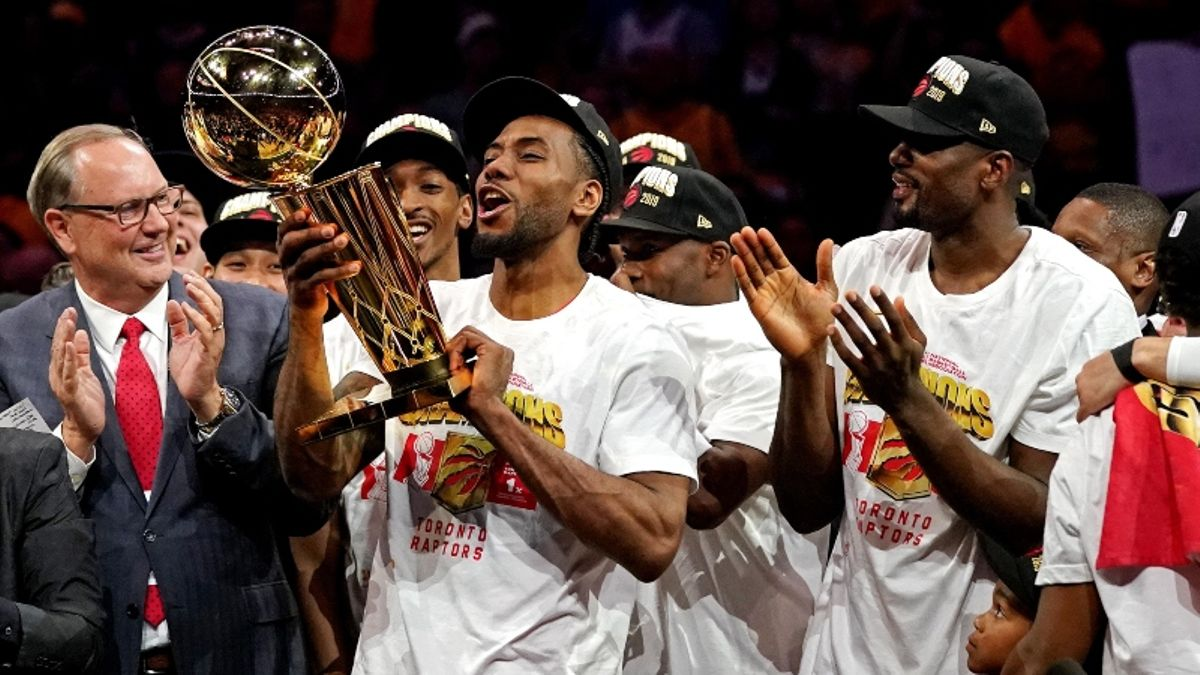 The NBA Championship Hangover Effect: Do Title Teams Go Under Their Win Total the Next Year? article feature image