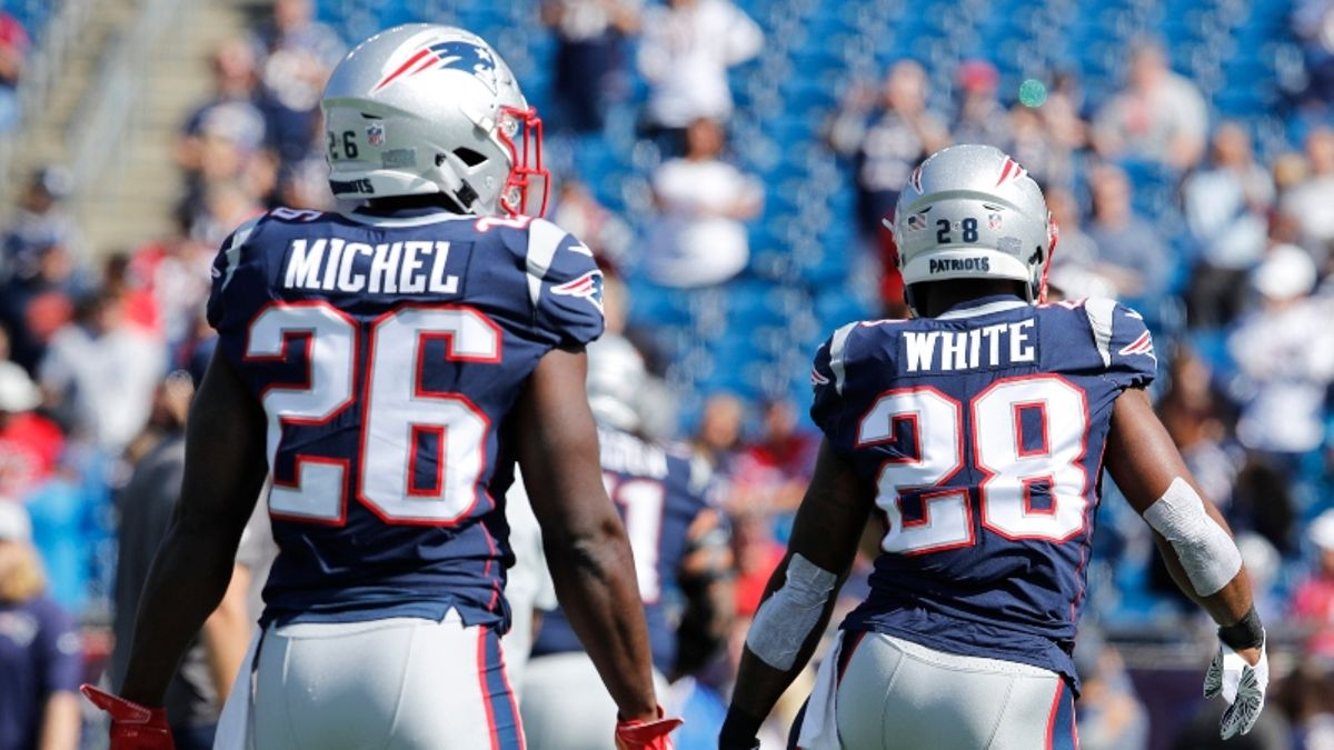 Which Patriots' Running Backs Offer Fantasy Football Value in 2019? article feature image