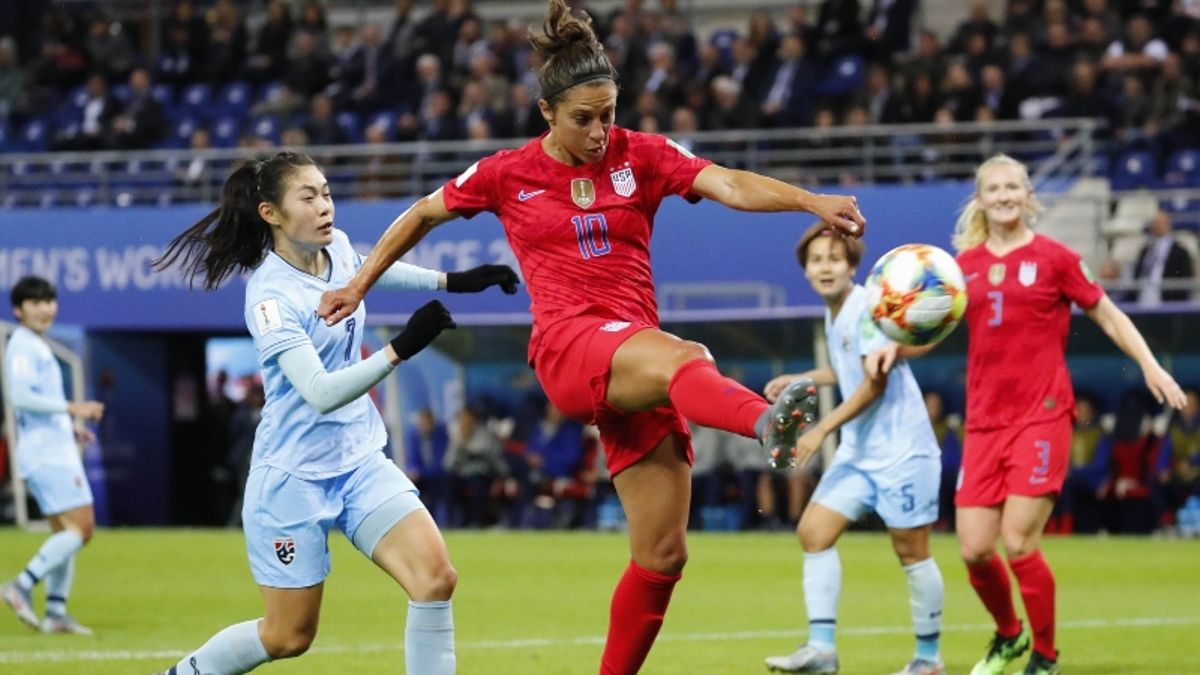 2019 Women's World Cup Betting Odds, Preview: Can USA Secure Another Double-Digit Win vs. Chile? article feature image