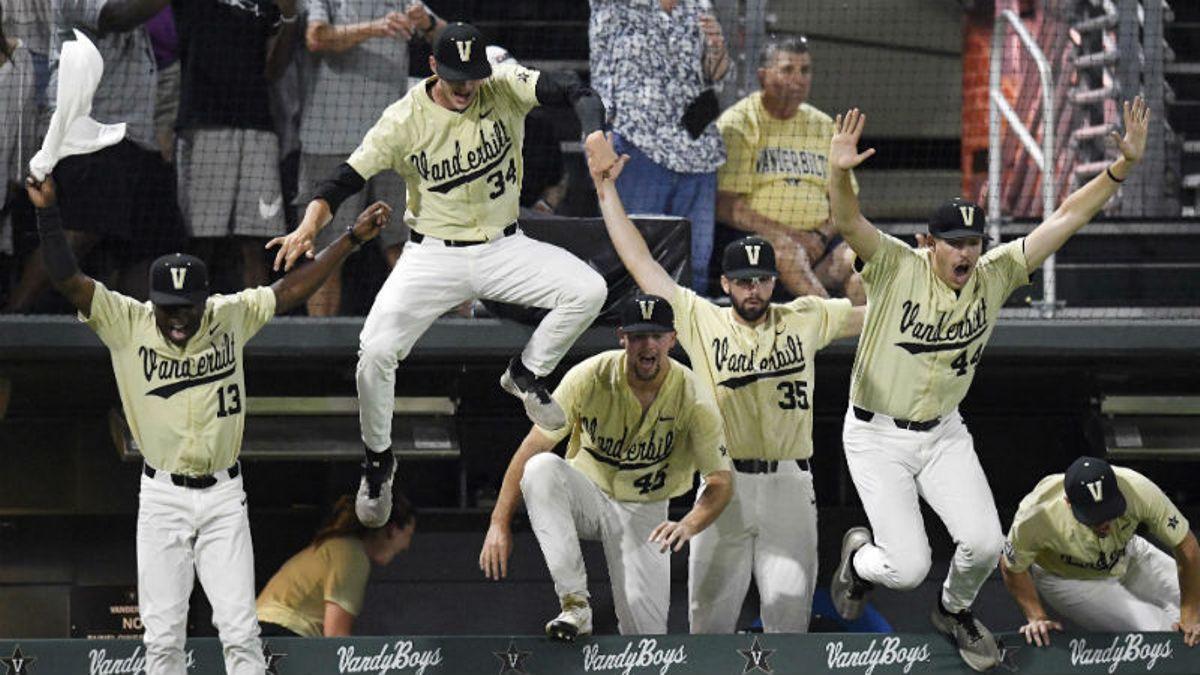 2019 College World Series Odds: Vanderbilt, Arkansas Co-Favorites to Win NCAA Baseball Tournament article feature image