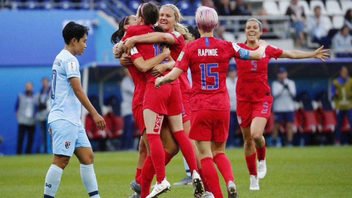 USA Set Women's World Cup Record With 13-0 Win Against Thailand article feature image